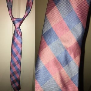 Nautica Pink and Blue Tie
